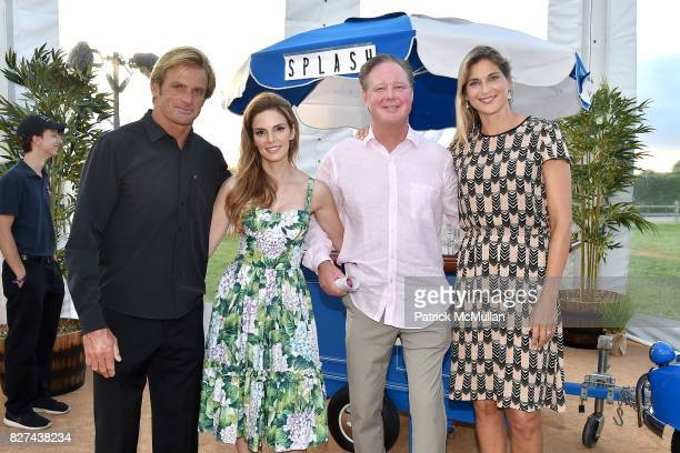 Laird Hamilton, Amy France, Brian France and Gabby Reece attend Sixth Annual Hamptons Paddle and Party for Pink Benefitting the Breast Cancer...