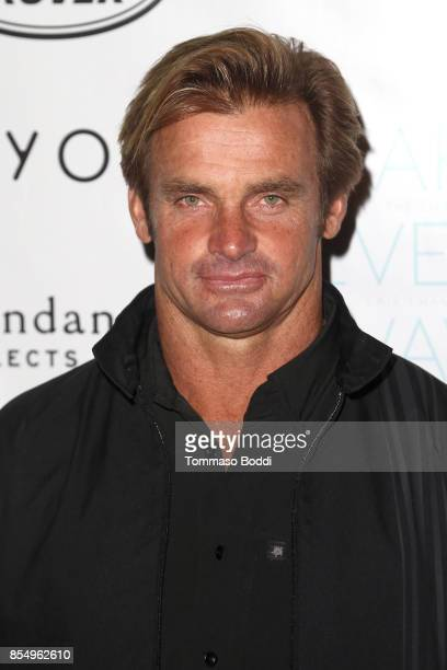 Laird Hamilton attends the Premiere of Sundance Selects' 'Take Every Wave The Life Of Laird Hamilton' at ArcLight Hollywood on September 27 2017 in...