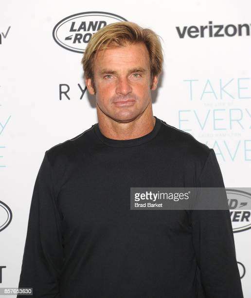 Laird Hamilton attends the 'Take Every Wave The Life Of Laird Hamilton' New York Premiere at The Metrograph on October 4 2017 in New York City