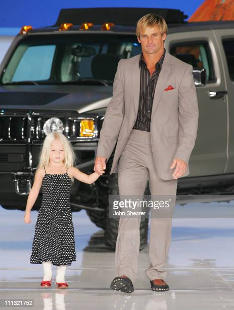 Laird Hamilton during 2007 GM Style Show in Detroit Michigan United States