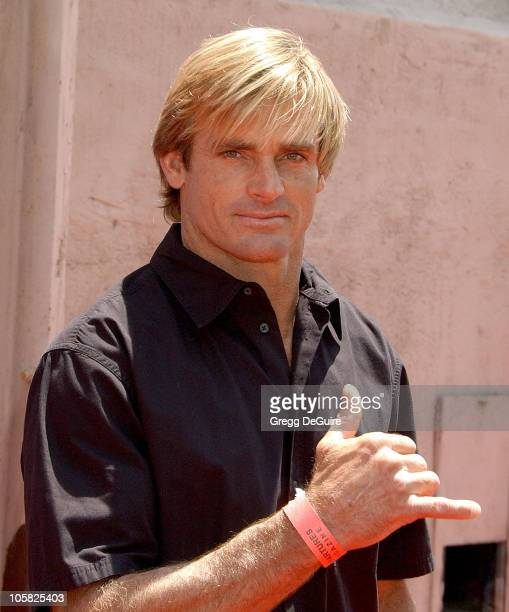 Laird Hamilton during 6th Annual Project ALS Los Angeles Benefit Sponsored By Departures Magazine Arrivals at New York City Lot at Paramount Pictures...