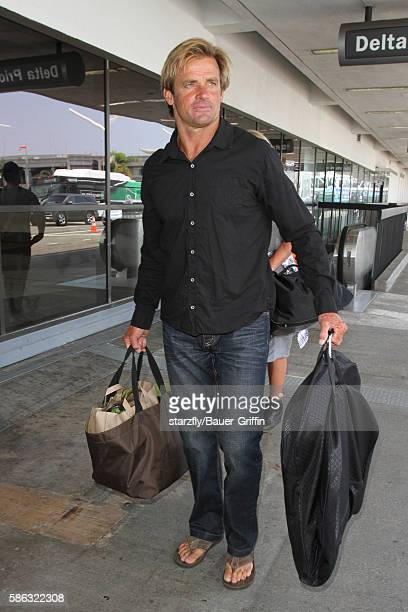 Laird Hamilton is seen at LAX on August 05 2016 in Los Angeles California