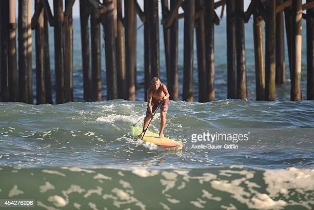 Laird Hamilton is seen in Malibu on August 27 2014 in Los Angeles California