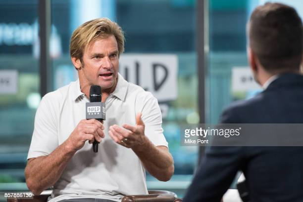 Laird Hamilton visits Build Series to discuss 'Take Every Wave The Life Of Laird Hamilton' at Build Studio on October 5 2017 in New York City