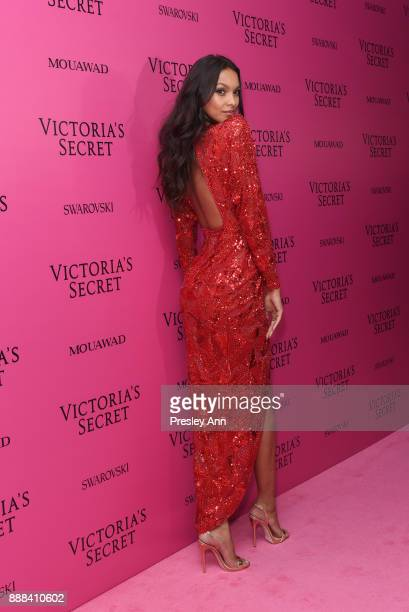 Lais Ribeiro attends 2017 Victoria's Secret Fashion Show In Shanghai After Party at MercedesBenz Arena on November 20 2017 in Shanghai China