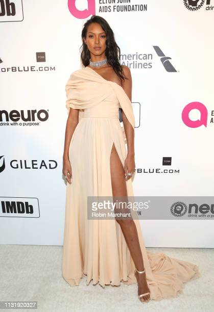 Lais Ribeiro attends 27th Annual Elton John AIDS Foundation Academy Awards Viewing Party Celebrating EJAF And The 91st Academy Awards on February 24...