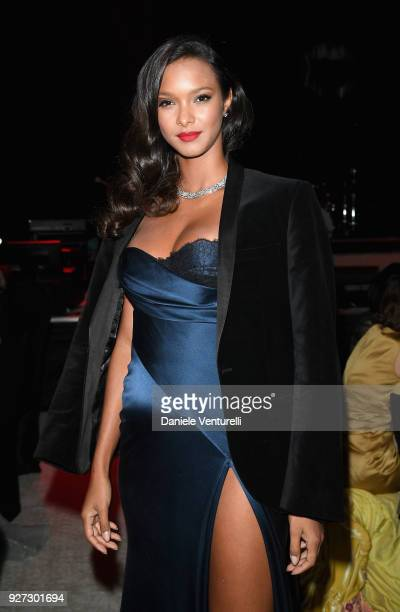 Lais Ribeiro attends Elton John AIDS Foundation 26th Annual Academy Awards Viewing Party at The City of West Hollywood Park on March 4 2018 in Los...