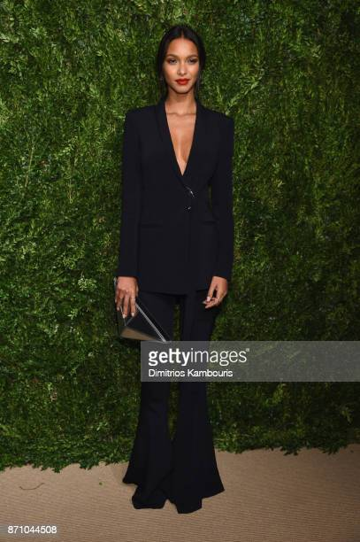 Lais Ribeiro attends the 14th Annual CFDA/Vogue Fashion Fund Awards at Weylin B Seymour's on November 6 2017 in the Brooklyn borough of New York City...