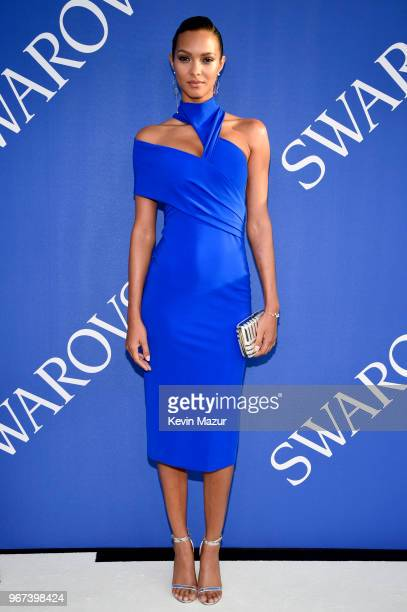 Lais Ribeiro attends the 2018 CFDA Fashion Awards at Brooklyn Museum on June 4 2018 in New York City