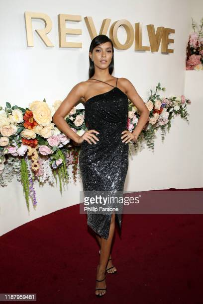 Lais Ribeiro attends the 3rd annual #REVOLVEawards at Goya Studios on November 15, 2019 in Hollywood, California.