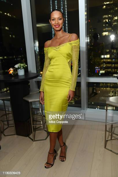 Lais Ribeiro attends the InStyle Dinner to Celebrate the April Issue Hosted By Cover Star Ciara and Laura Brown on March 13 2019 in New York City