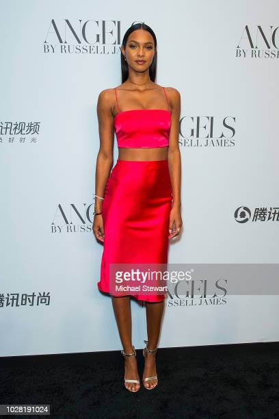 Lais Ribeiro attends the Russell James 'Angels' book launch & exhibit at Stephan Weiss Studio on September 6, 2018 in New York City.