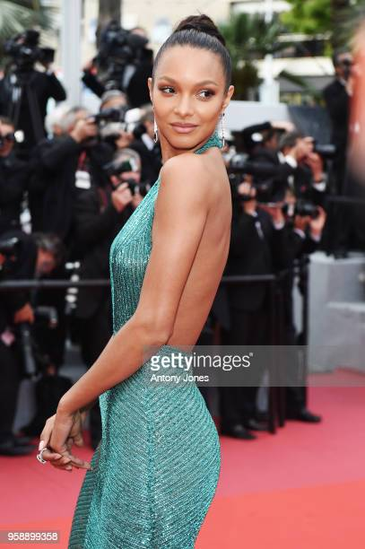 Lais Ribeiro attends the screening of 'Solo A Star Wars Story' during the 71st annual Cannes Film Festival at Palais des Festivals on May 15 2018 in...