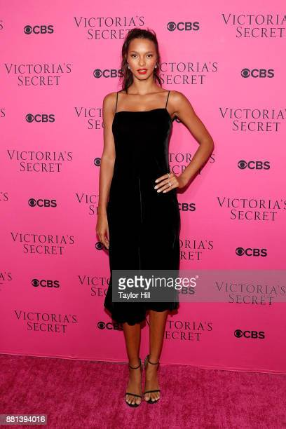 Lais Ribeiro attends the Victoria's Secret Viewing Party Pink Carpet celebrating the 2017 Victoria's Secret Fashion Show in Shanghai at Spring...