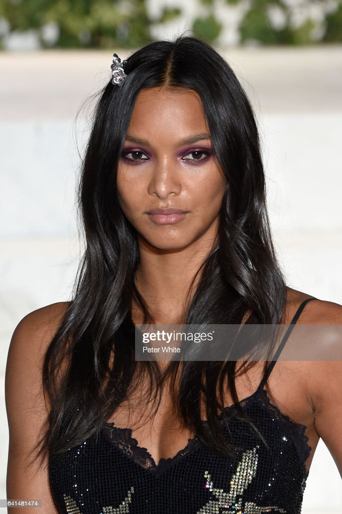 Lais Ribeiro walks the runway at La Perla fashion show Fall/Winter 2017-2018 Ready To Wear Show at SIR Stage 37 on February 9, 2017 in New York City.