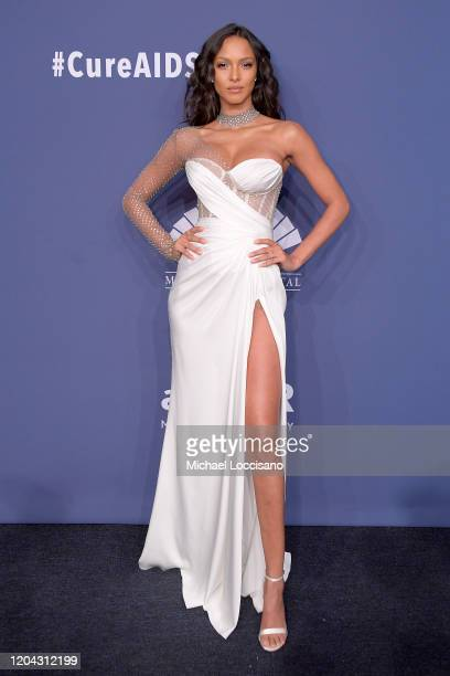 Lais Riberio attends the 2020 amfAR New York Gala on February 05, 2020 in New York City.