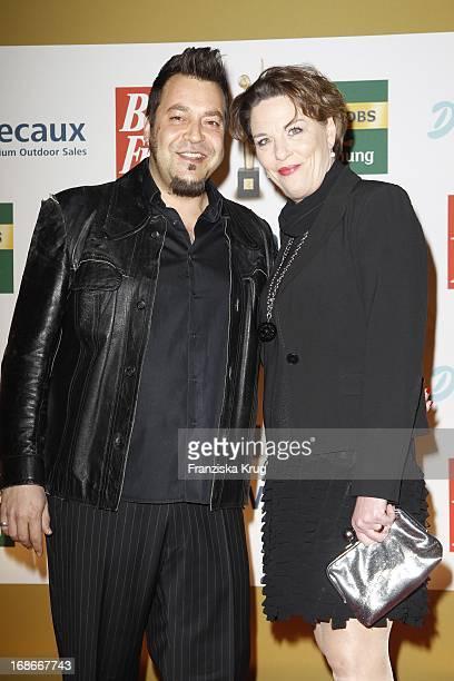Laith AlDeen and Melanie In The ceremony The Golden 'Bild Der Frau' Awards In UllsteinHalle in Berlin
