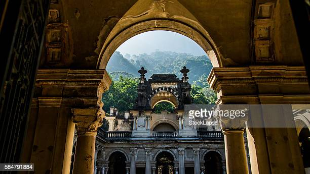 laje park in rio de janeiro - laje stock pictures, royalty-free photos & images
