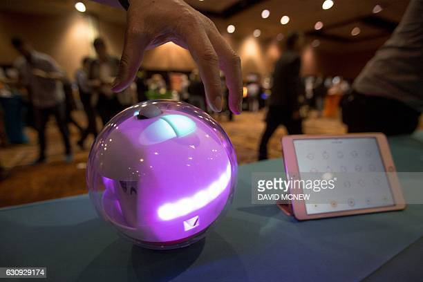 A Laka smart toy and app to benefit special needs children are shown during the 2017 Consumer Electronics Show in Las Vegas Nevada on January 3 2017...