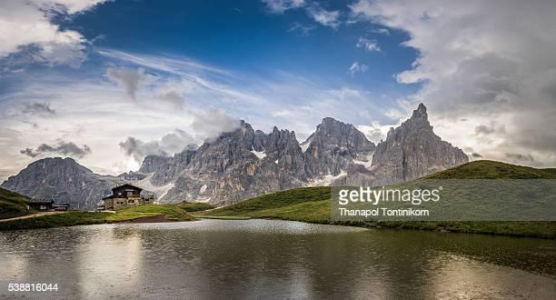 Lake at Baita Segantini