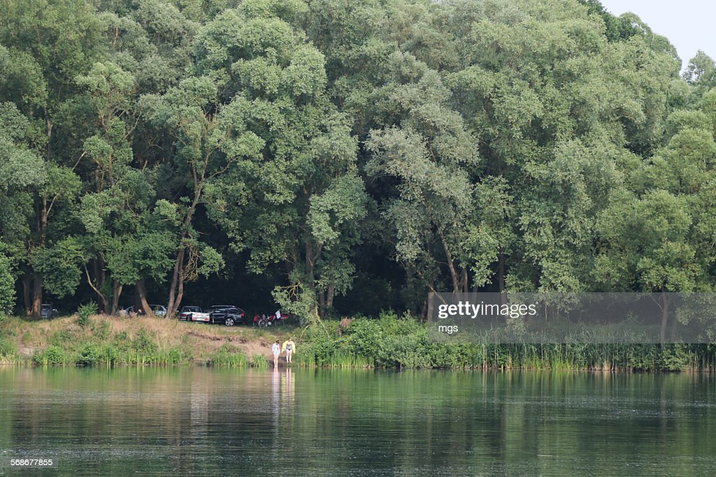 Lake at Prignitz : Stock Photo