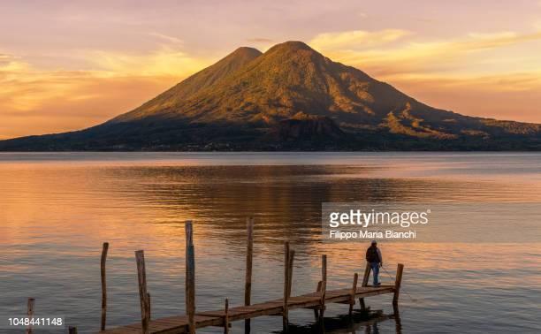 Lake Atitlan at sunrise