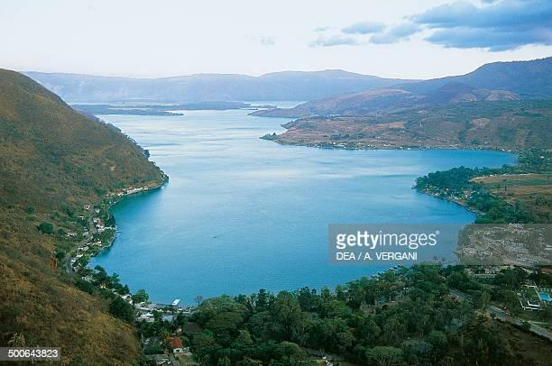 Lake Atitlan Quiche Department Guatemala