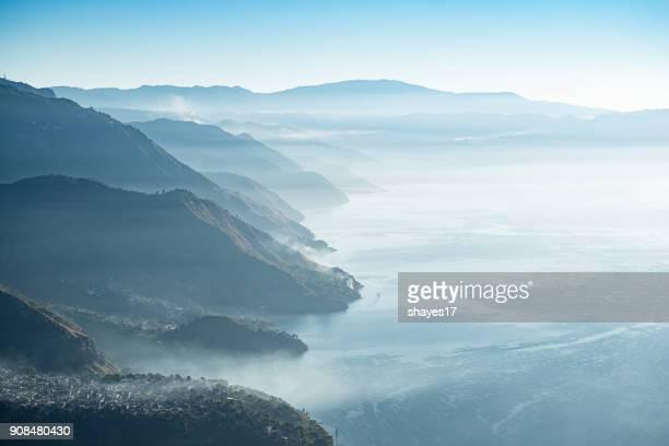 Lake Atitlán sunrise