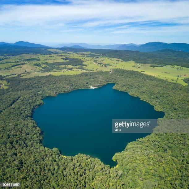 Lake Barrine, Crater Lakes Nationalpark, Queensland, Australien