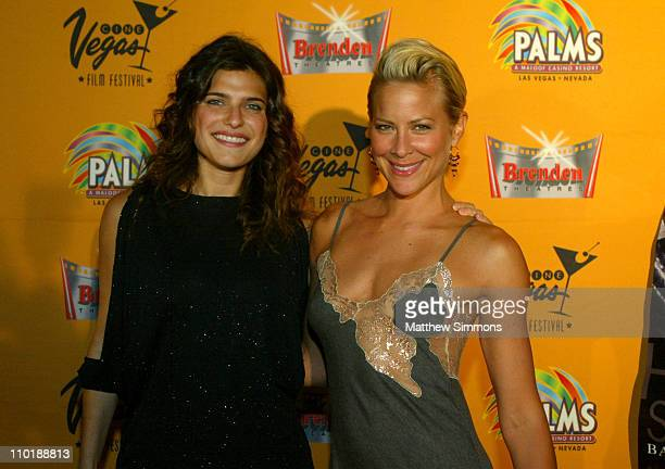"""Lake Bell and Brittany Daniel during CineVegas 2004 - """"The Hillside Strangler"""" Screening at The Palms Hotel in Las Vegas, Nevada, United States."""