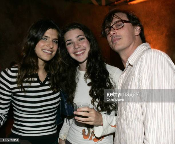Lake Bell and Donovan Leitch during American Eagle Outfitters Rocks Los Angeles with a Back to School Tailgate Party - Inside at Hollywood Lot in...