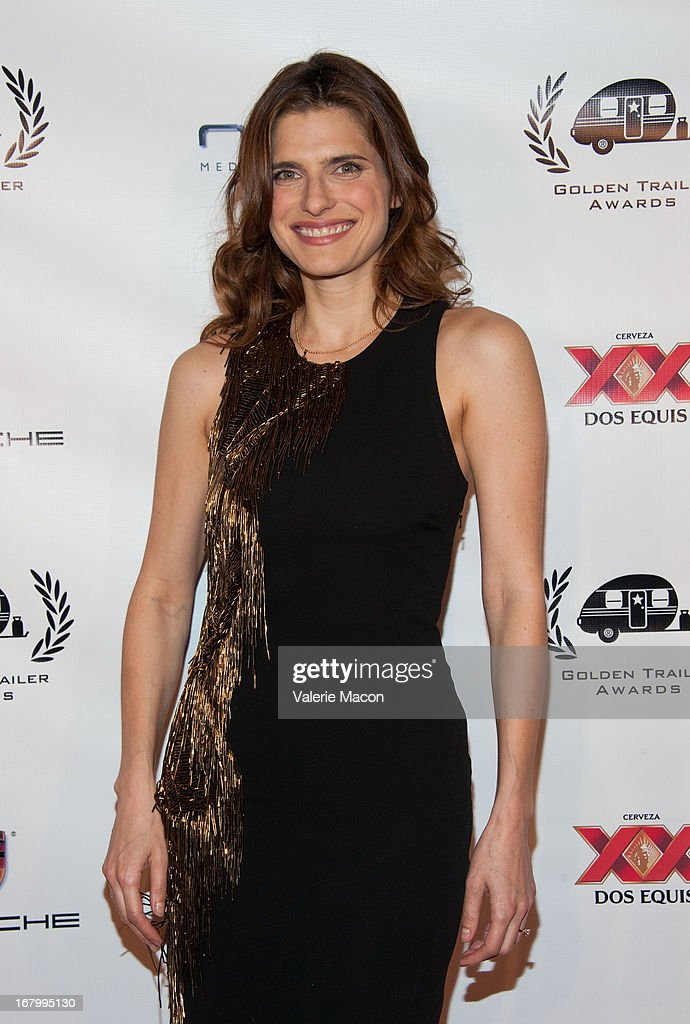 Lake Bell arrives at the 14th Annual Golden Trailer Award at Saban Theatre on May 3, 2013 in Beverly Hills, California.