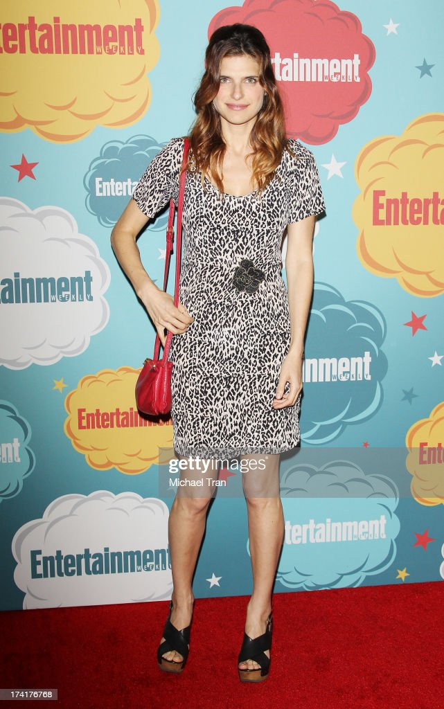 Lake Bell arrives at the Entertainment Weekly's Annual Comic-Con celebration held at Float at Hard Rock Hotel San Diego on July 20, 2013 in San Diego, California.