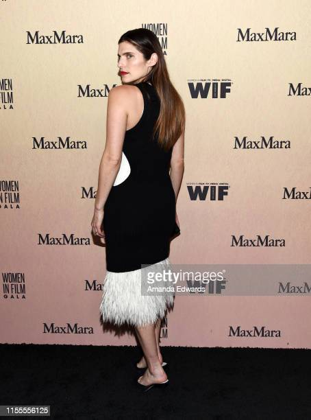 Lake Bell arrives at the Women In Film Annual Gala 2019 Presented By Max Mara at The Beverly Hilton Hotel on June 12, 2019 in Beverly Hills,...