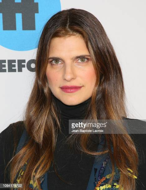 Lake Bell attends Disney ABC Television Hosts TCA Winter Press Tour 2019 on February 05 2019 in Pasadena California
