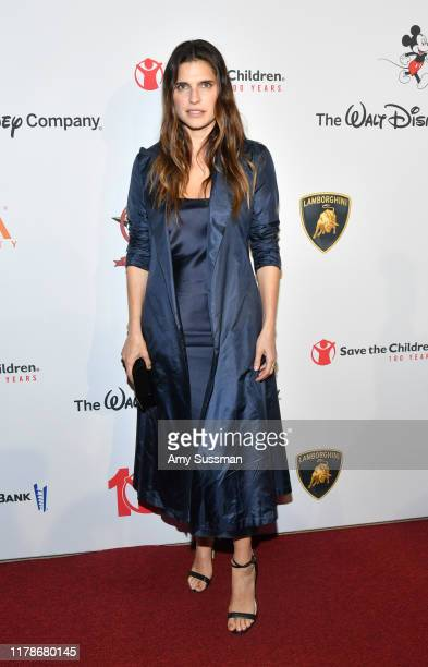 Lake Bell attends Save The Children's Centennial Celebration Once In A Lifetime at The Beverly Hilton Hotel on October 02 2019 in Beverly Hills...