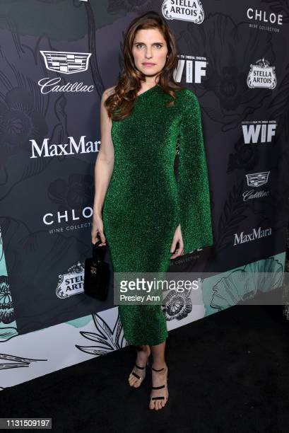 Lake Bell attends the 12th Annual Women in Film Oscar Nominees Party Presented by Max Mara with additional support from Chloe Wine Collection, Stella...