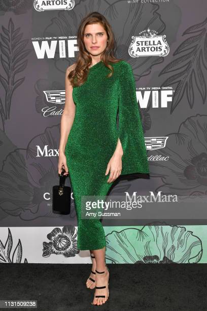 Lake Bell attends the 12th Annual Women In Film Oscar Party at Spring Place on February 22 2019 in Beverly Hills California