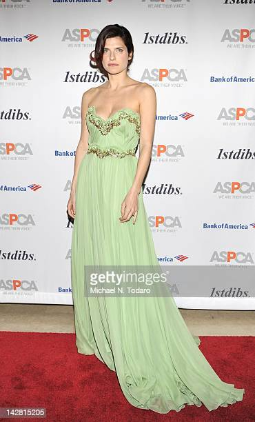 Lake Bell attends the 15th annual ASPCA Bergh ball at The Plaza Hotel on April 12 2012 in New York City