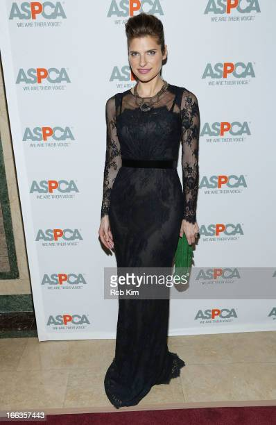 Lake Bell attends the 16th Annual ASPCA Bergh Ball at The Plaza Hotel 5th Avenue on April 11 2013 in New York City