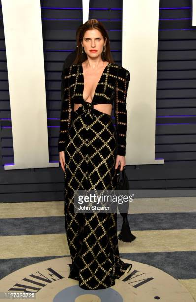 Lake Bell attends the 2019 Vanity Fair Oscar Party hosted by Radhika Jones at Wallis Annenberg Center for the Performing Arts on February 24 2019 in...