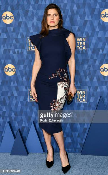 Lake Bell attends the ABC Television's Winter Press Tour 2020 at The Langham Huntington Pasadena on January 08 2020 in Pasadena California