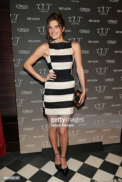 Lake Bell attends The Cut and New York Magazine's Fashion Week Party with Revlon and Ciroc at Gramercy Terrace at The Gramercy Park Hotel on...