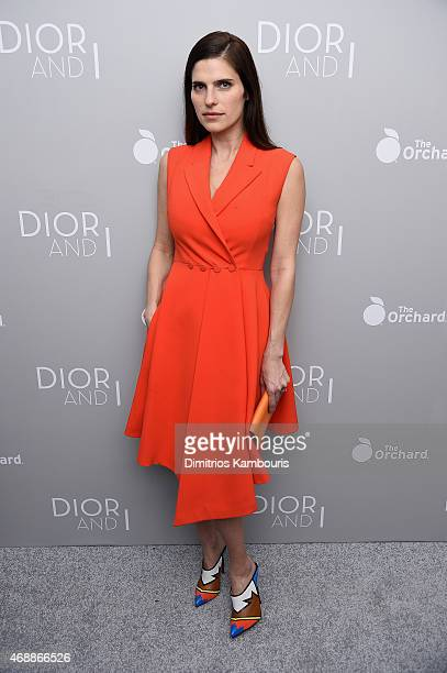Lake Bell attends the Dior And I NY Premiere on April 7 2015 in New York City