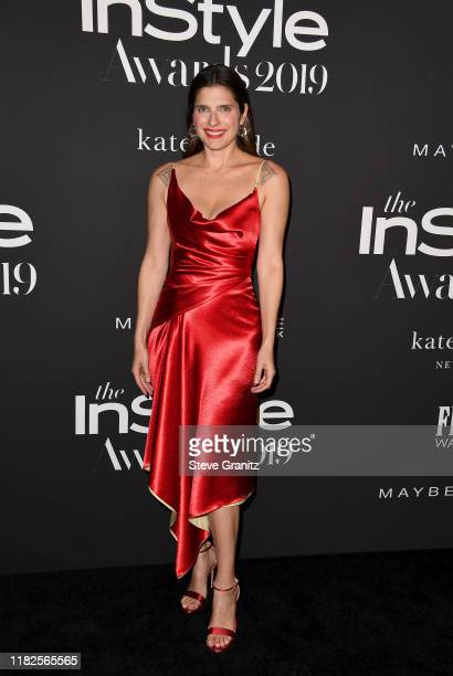 Lake Bell attends the Fifth Annual InStyle Awards at The Getty Center on October 21 2019 in Los Angeles California