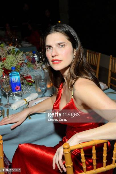 Lake Bell attends the Fifth Annual InStyle Awards with FIJI Water on October 21 2019 in Los Angeles California