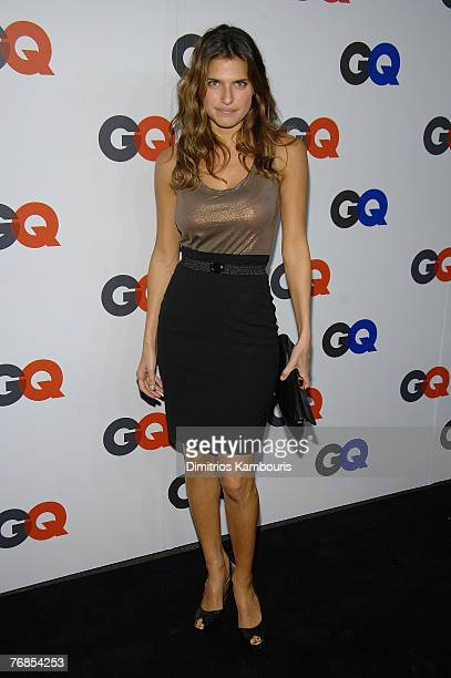 Lake Bell attends the GQ Magazine 50th Anniversary Party at Cedar Lake on September 18 2007 in New York City
