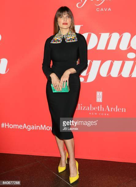 Lake Bell attends the premiere of Open Road Films' 'Home Again' on August 29 2017 in Los Angeles California