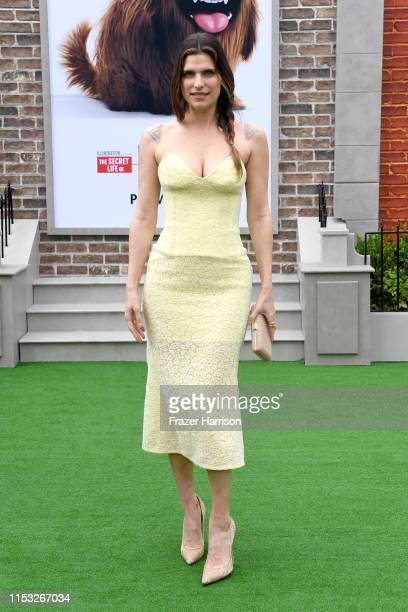 Lake Bell attends the Premiere of Universal Pictures' 'The Secret Life Of Pets 2' at Regency Village Theatre on June 02 2019 in Westwood California