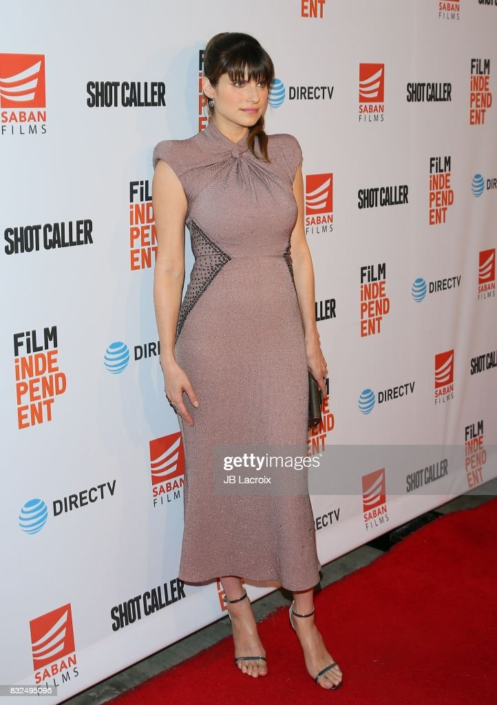 Lake Bell attends the screening of Saban Films and DIRECTV's 'Shot Caller' on August 15, 2017 in Los Angeles, California.